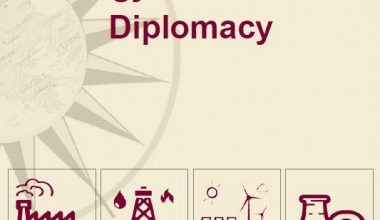 FIFTH ISSUE OF ENERGY AND CLIMATE DIPLOMACY JOURNAL